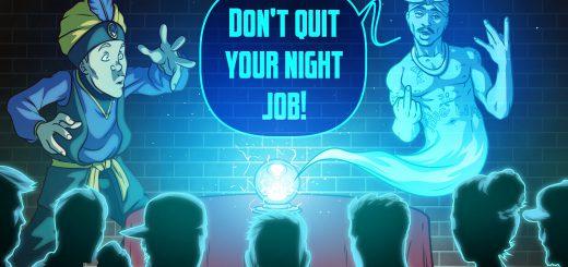 Don't Quit Your Night Job #6 - Psychic Medium Marc Lainhart